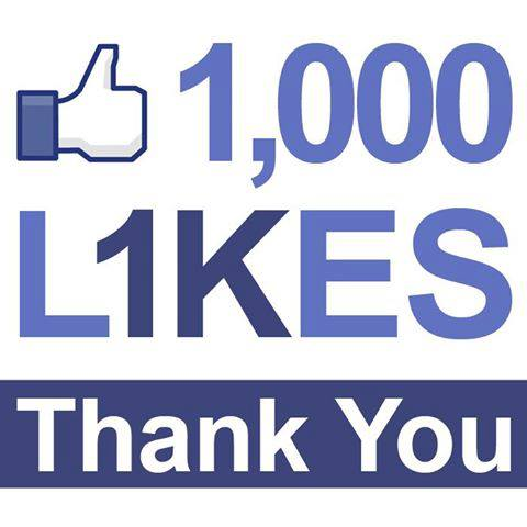 how to get 1000 likes on facebook business page
