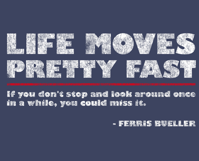 adi life moves fast