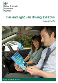 Car and light van driving syllabus