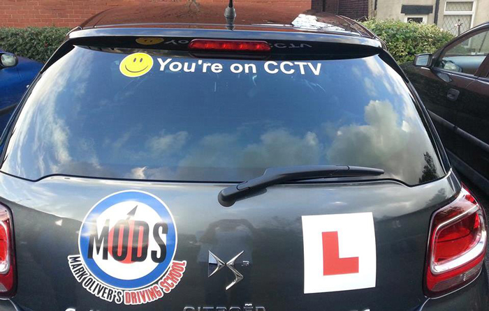 Photo courtesy of Mark Oliver's Driving School